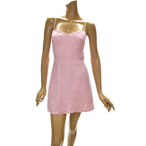 Reformation Audrey Linen Mini Dress size 4